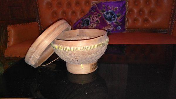 Bakul Nasi Bambu Jumbo