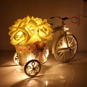 LED Bunga Mawar Bertali