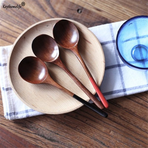 1Pcs Wooden Big Spoons