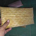 Dompet dari Anyaman Bambu